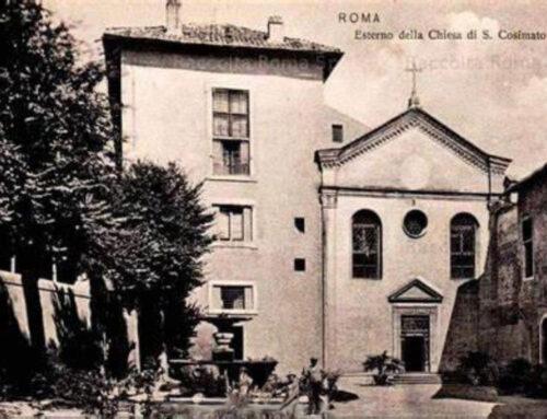 Vota la riqualificazione del cortile di San Cosimato
