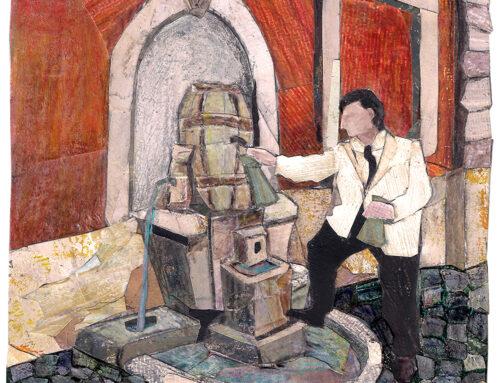 La fontana della Botte | Via della Cisterna