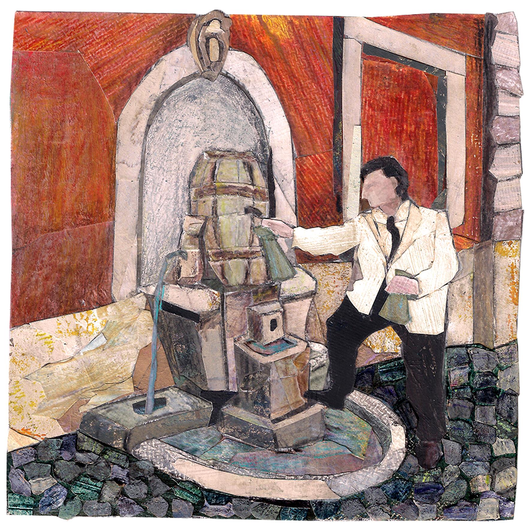 via della cisterna | la fontana della botte