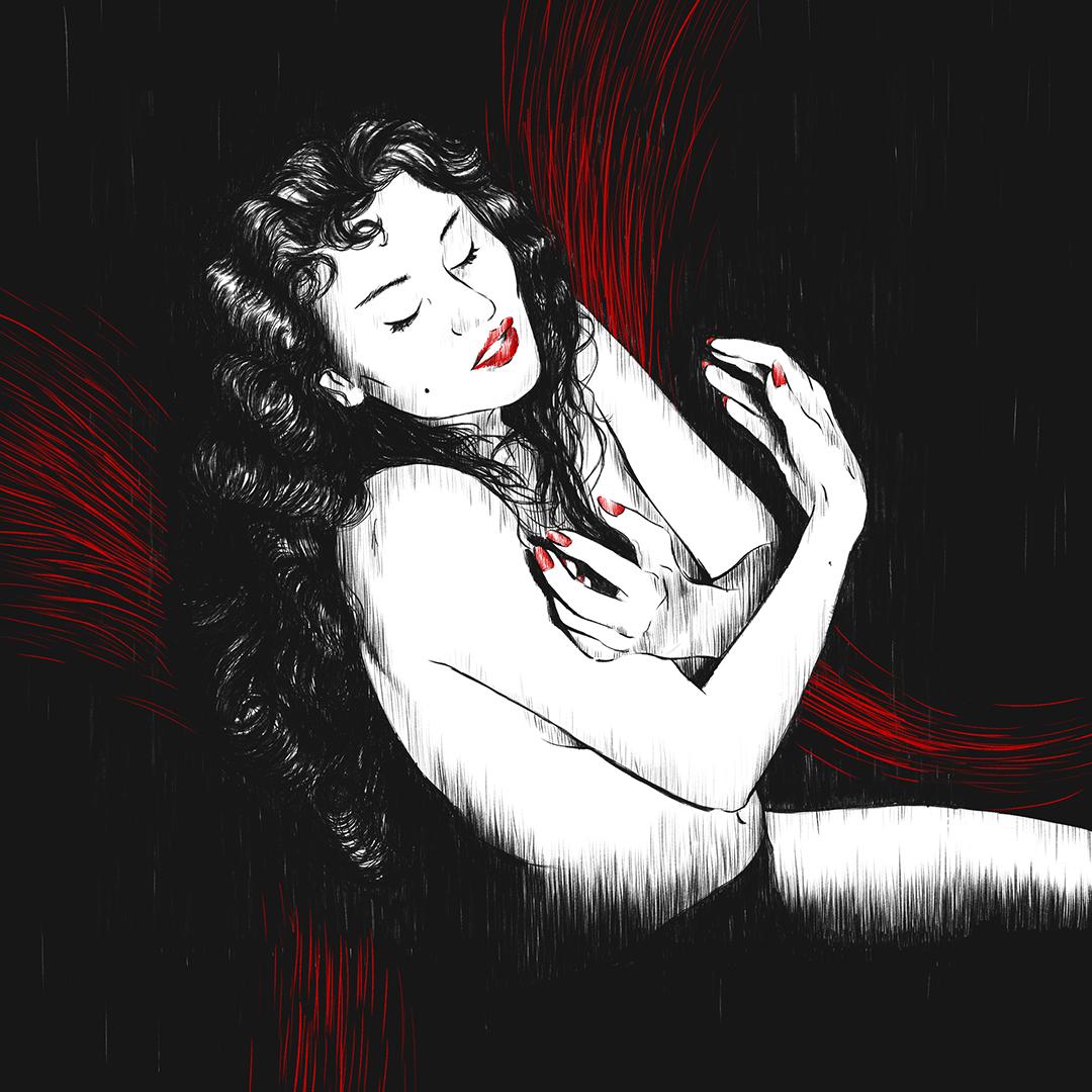 Aiche Nana, uno dei nostri trasteverini, illustrato da Giulia Gardelli